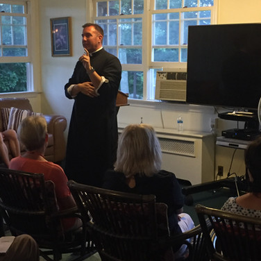 Presentation on St. Birgitta - a great messenger of the Sacred Heart by Fr. Stach