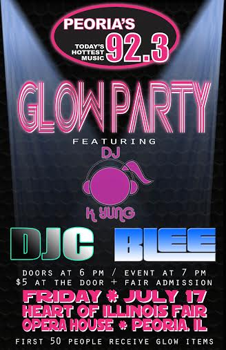 July 17th 2015 - Glow Party