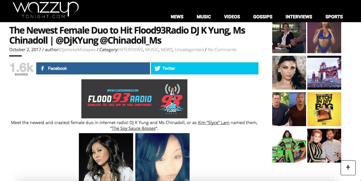 Wazzup Tonight (Page 1 of 3)- http://wazzuptonight.com/newest-female-duo-hit-internet-radio/