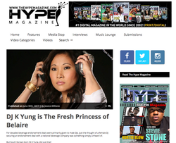 Hype Magazine - DJ K Yung (Page 1)