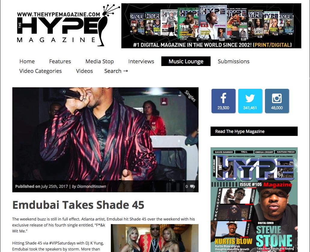 Hype Magazine - Emdubai