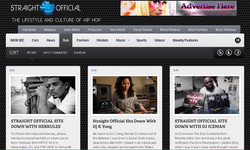 STRAIGHT OFFICIAL.COM (HOMEPAGE)