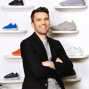 Photo of Tim Brown founder of Allbirds shoe