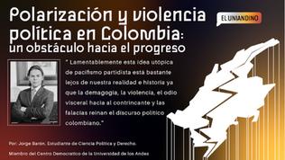 Polarización y violencia política en Colombia: un obstáculo hacia el progreso