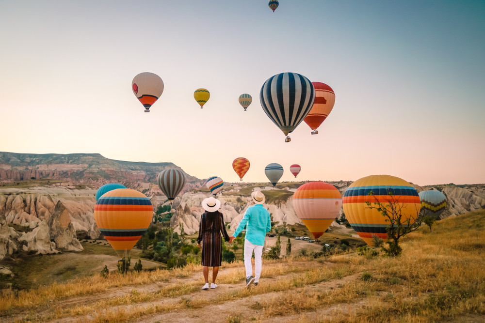 best places in the world to take a hot air balloon ride