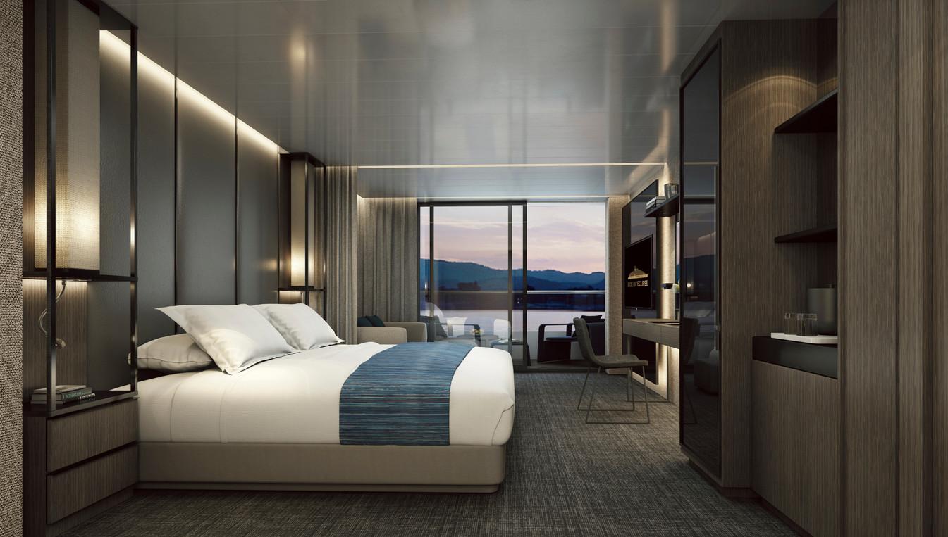 Scenic Eclipse - Verandah Suite Bedroom