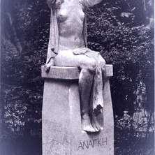 ANANKE sculpture by Gilbert Bayes