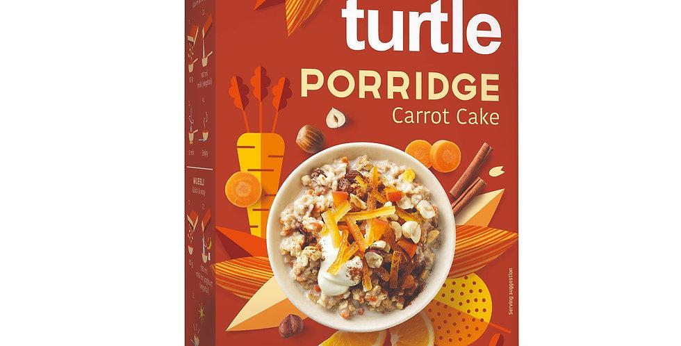Turtle Organic Porridge Carrot Cake