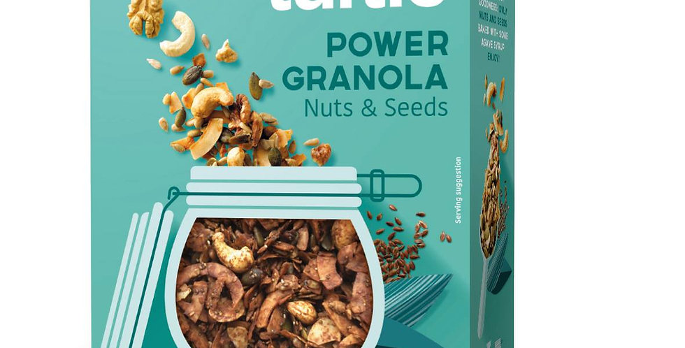 Turtle POWER Granola Nuts & Seeds