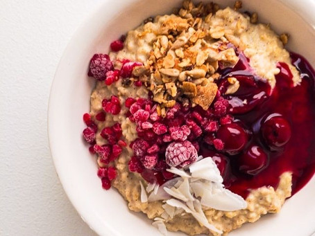 Porridge: 3 Simple ideas for winter toppings