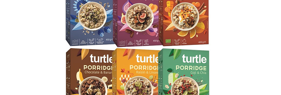 Turtle Rainbow - Porridge discovery pack