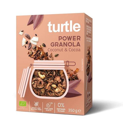 Turtle POWER Granola Coconut & Cocoa