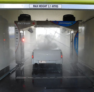 touch free automatic car wash