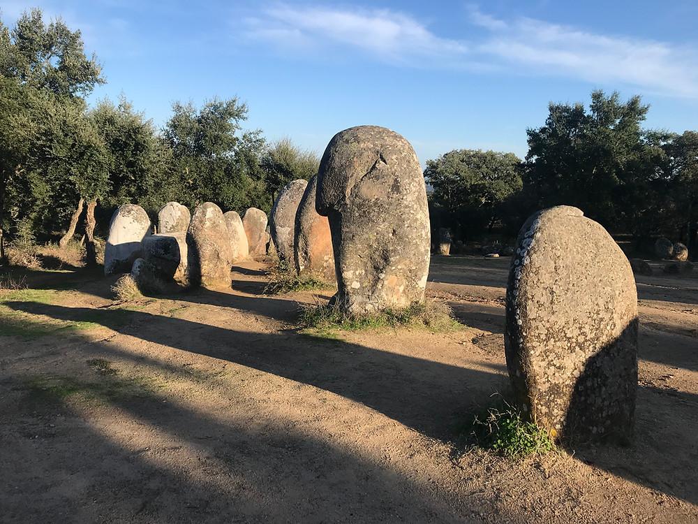 Stone Circle Evora Portugal