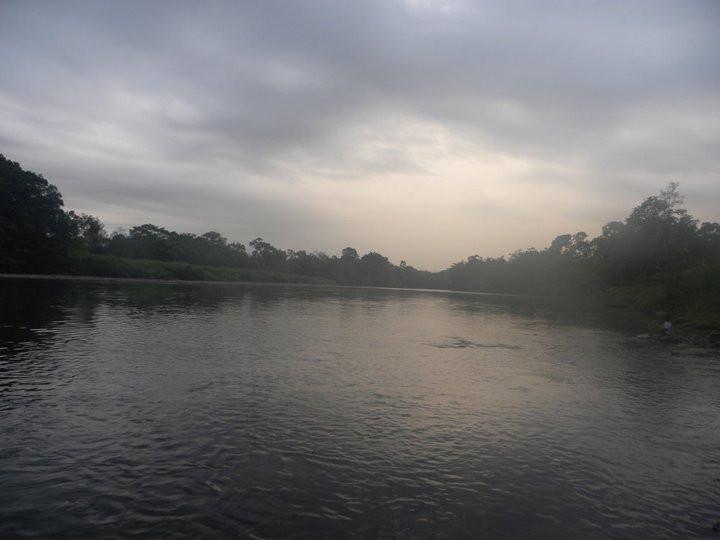 Rio Arajuno, Napo Province, Ecuador