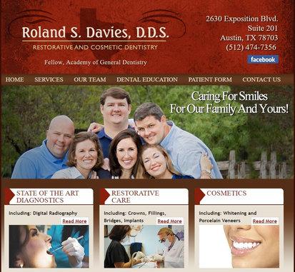 Roland Davies Dentist Website