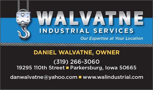 Walvatne Business Card Front Design