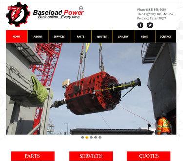 Baseload Website Design