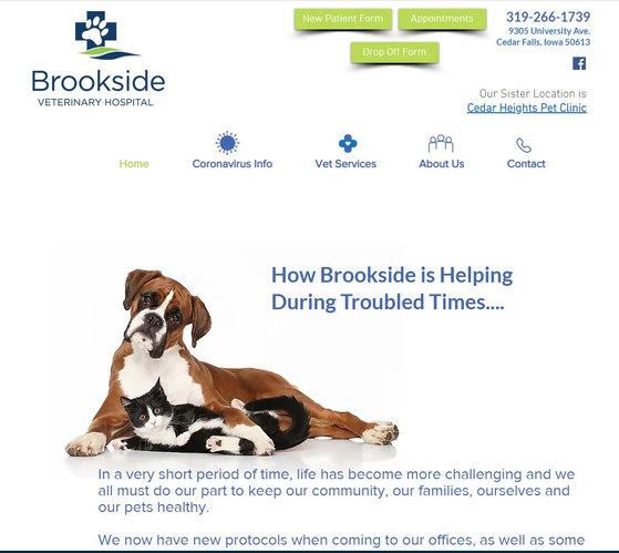 Brookside Website Design and Build