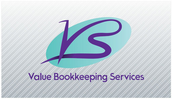 Value Bookkeeping Business Card Back