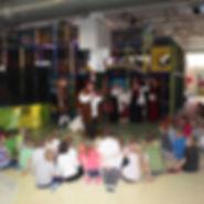 BWG-Erlebnishaus Halle Kinder bei einer Veranstaltun