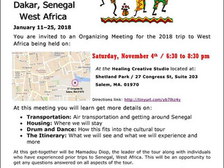 Getting ready for our Senegal Tour!