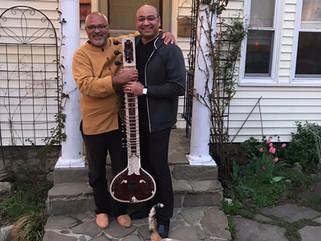 Sanjay Sharma from Rikhi Ram: Indian musical instruments repair workshop