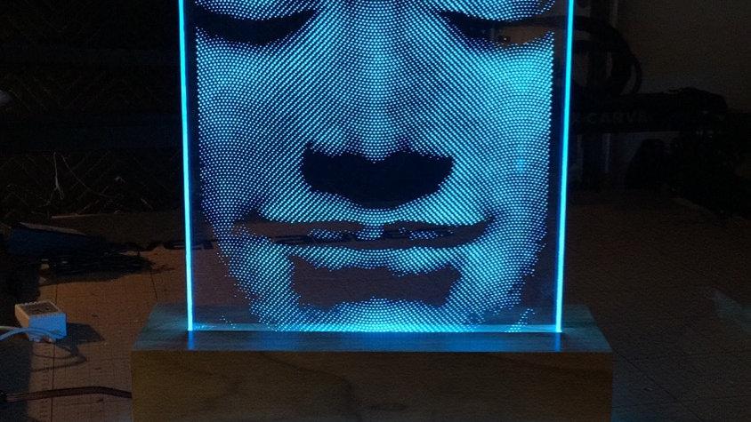 Illuminated Buddha, large table top