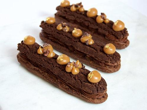Chocolate Caramel Eclair