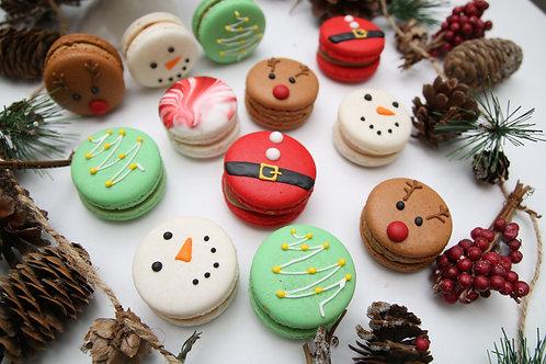 Christmas Macaron Gift Box