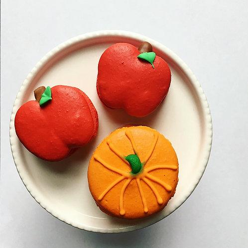 Apple Caramel Feature Macaron