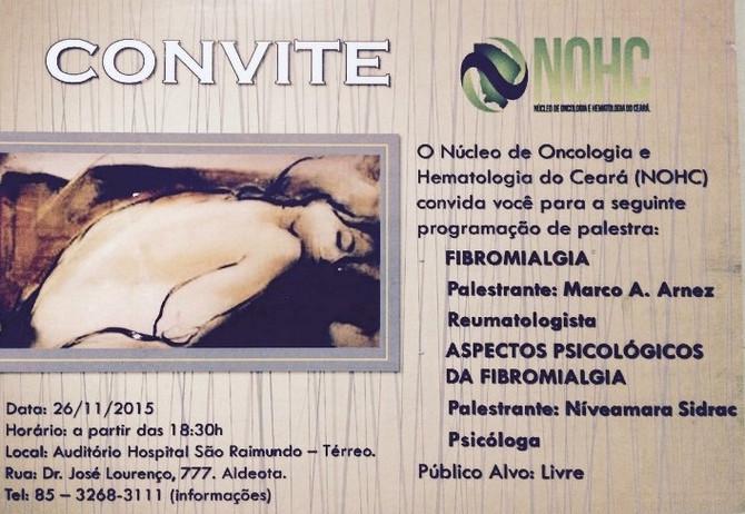 NOHC Palestra de Fibromialgia