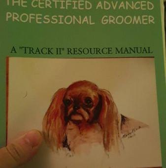 International certified advanced professional groomer