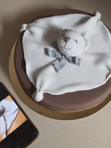 עוגת בובת דובי