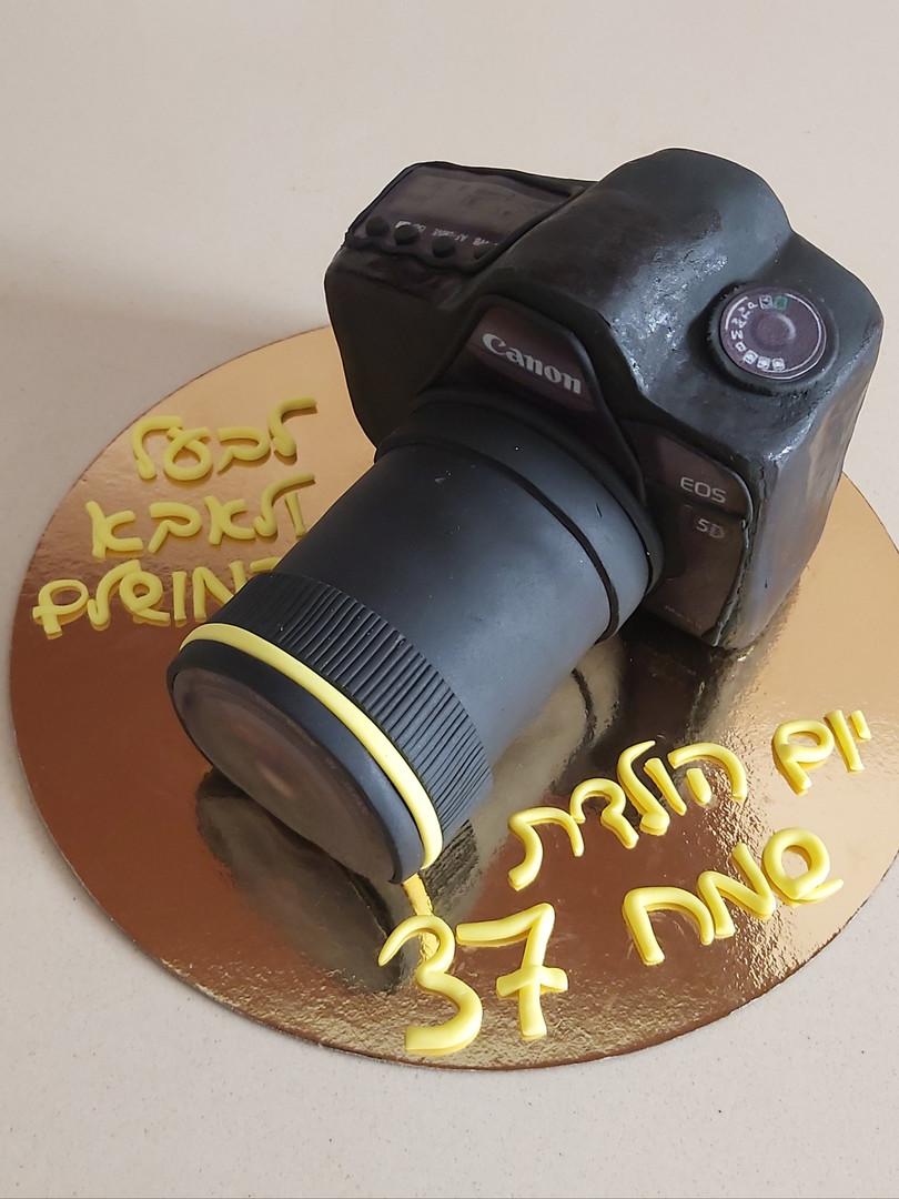 עוגת מצלמה