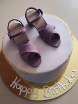 עוגת נעליים