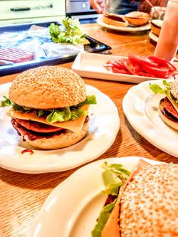 Večerja - veganski burger
