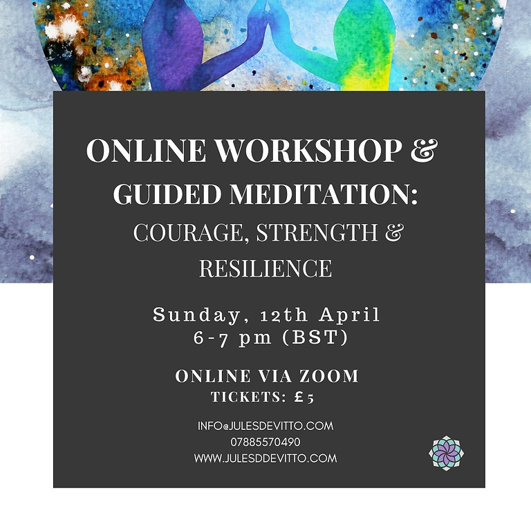 ONLINE: Guided Meditation & Workshop