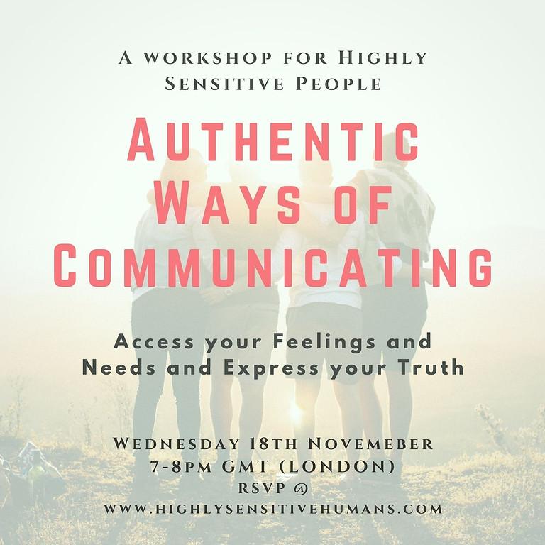 Authentic Ways of Communicating