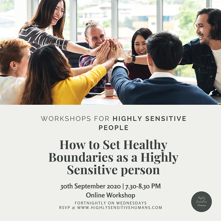 How to Set Healthy Boundaries as a Highly Sensitive person