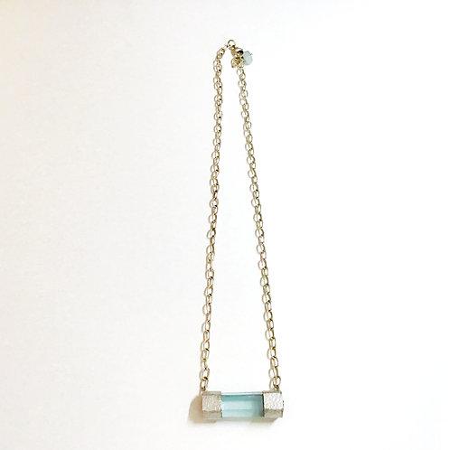 Aquamarine & Sterling Silver