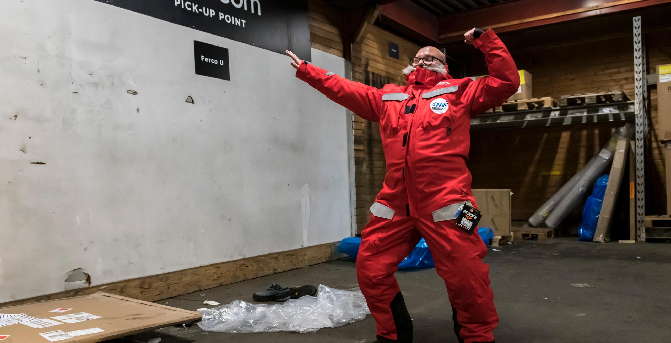 Vorbereitung und Sicherheitstraining Tromsö