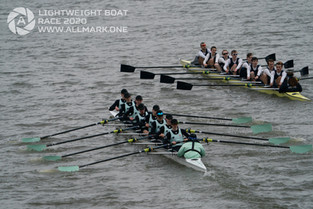 Oxford win the 2020 Lightweight Men's Boat Race