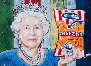 150 paintings. 87 days. One Cheezie-loving Queen.