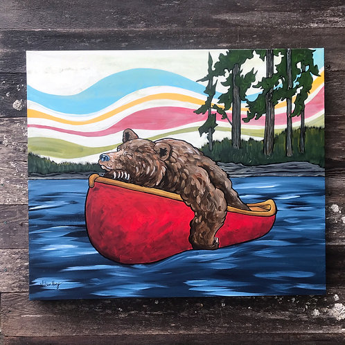 O-Canada Bear was content.....