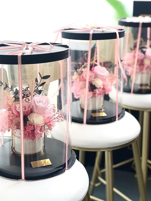 Pastel Pink Pot