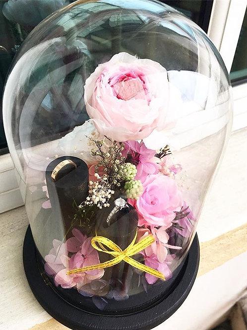 Ring Holder (Preserved Flower)