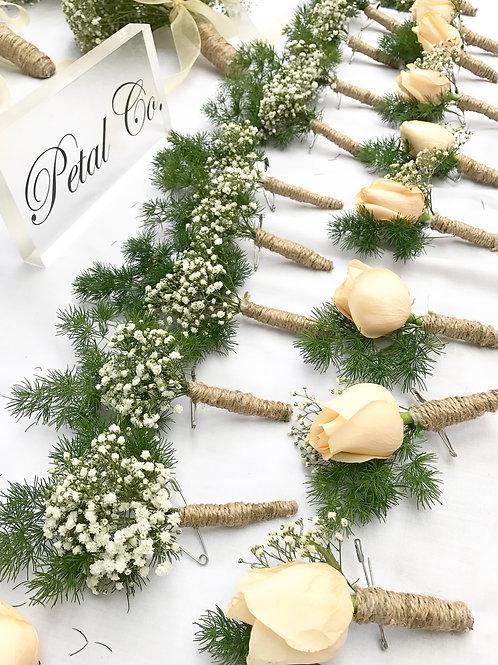 Boutonnaire (Fresh Flowers)