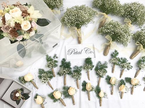 Bridesmaid bouquet (Fresh Flowers)