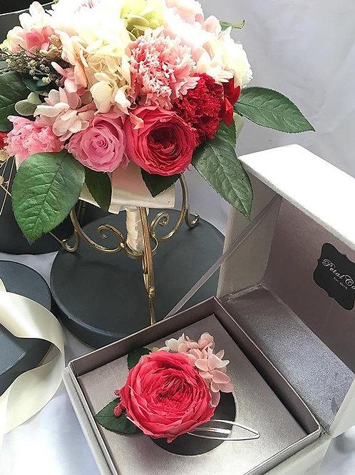 Head Piece Set (Preserved flowers)
